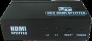 Accesorii Kauber Splitter HDMI 1-2 3D ReadyKauber Splitter HDMI 1-2 3D Ready