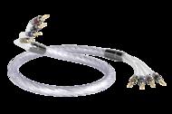 Cabluri audio Cablu QED Genesis Silver Spiral Bi-Amp 3mCablu QED Genesis Silver Spiral Bi-Amp 3m