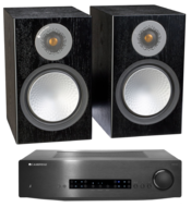 Pachete PROMO STEREO Monitor Audio Silver 100 + Cambridge Audio CXA60Monitor Audio Silver 100 + Cambridge Audio CXA60