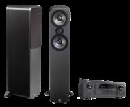 Pachete PROMO STEREO Q Acoustics 3050 + Denon AVR-X2400HQ Acoustics 3050 + Denon AVR-X2400H