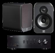 Pachete PROMO STEREO Q Acoustics 3020 + Yamaha A-S501Q Acoustics 3020 + Yamaha A-S501