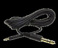Accesorii CASTI Sennheiser Connection cable 3m, 6.3mm jack plug suitable for: HD 518, HD 558, HD 598Sennheiser Connection cable 3m, 6.3mm jack plug suitable for: HD 518, HD 558, HD 598
