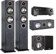 Pachete PROMO SURROUND Pachet PROMO Monitor Audio Bronze 5 pachet 5.0 + Denon AVR-X2500HPachet PROMO Monitor Audio Bronze 5 pachet 5.0 + Denon AVR-X2500H