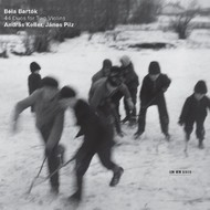 Muzica CD CD ECM Records Andras Keller, Janos Pilz - Bela Bartok: 44 Duos For Two ViolinsCD ECM Records Andras Keller, Janos Pilz - Bela Bartok: 44 Duos For Two Violins
