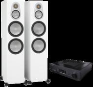Pachete PROMO STEREO Pachet PROMO Monitor Audio Silver 500 + Cambridge Audio 851APachet PROMO Monitor Audio Silver 500 + Cambridge Audio 851A