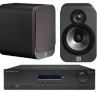 Pachete PROMO STEREO Q Acoustics 3020 + Cambridge Audio Topaz SR10Q Acoustics 3020 + Cambridge Audio Topaz SR10