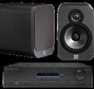 Pachete PROMO STEREO Q Acoustics 3020 + Cambridge Audio topaz SR10Q Acoustics 3020 + Cambridge Audio topaz SR10