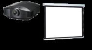 Videoproiectoare Videoproiector Sony VPL-HW65ES + Projecta COMPACT RF ELECTROL Matte White  162x280cmVideoproiector Sony VPL-HW65ES + Projecta COMPACT RF ELECTROL Matte White  162x280cm
