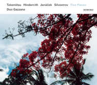 Muzica CD CD ECM Records Duo Gazzana: Five Pieces - Takemitsu / Hindemith / Janacek / SilvestrovCD ECM Records Duo Gazzana: Five Pieces - Takemitsu / Hindemith / Janacek / Silvestrov