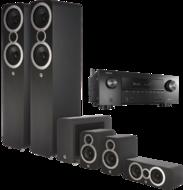 Pachete PROMO SURROUND Pachet PROMO Q Acoustics 3050i pachet 5.1 + Denon AVR-X2500HPachet PROMO Q Acoustics 3050i pachet 5.1 + Denon AVR-X2500H