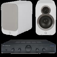 Pachete PROMO STEREO Q Acoustics 3010i + Cambridge Audio AM5Q Acoustics 3010i + Cambridge Audio AM5