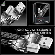 Cabluri audio Cablu Audioquest Diamond USB A <> B PlugCablu Audioquest Diamond USB A <> B Plug