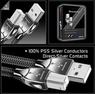 Cabluri audio Cablu Audioquest Diamond USB resigilat 0.75mCablu Audioquest Diamond USB resigilat 0.75m
