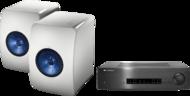 Pachete PROMO STEREO KEF LS50 + Cambridge Audio CXA80KEF LS50 + Cambridge Audio CXA80