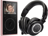 Pachete PROMO Casti si AMP Audio-Technica M50X + FiiO X1 IIAudio-Technica M50X + FiiO X1 II