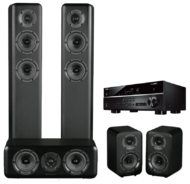 Pachete PROMO SURROUND Pachet PROMO Wharfedale D330 pachet 5.0 + Yamaha RX-V485Pachet PROMO Wharfedale D330 pachet 5.0 + Yamaha RX-V485