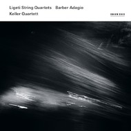 Muzica CD CD ECM Records Keller Quartett - Ligeti: String Quartets / Barber: AdagioCD ECM Records Keller Quartett - Ligeti: String Quartets / Barber: Adagio