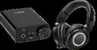 Pachete PROMO Casti si AMP Audio-Technica M50X + FiiO E10KAudio-Technica M50X + FiiO E10K