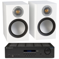 Pachete PROMO STEREO Monitor Audio Silver 50 + Cambridge Audio Topaz SR20Monitor Audio Silver 50 + Cambridge Audio Topaz SR20