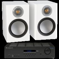 Pachete PROMO STEREO Pachet PROMO Monitor Audio Silver 50 + Cambridge Audio Topaz SR20Pachet PROMO Monitor Audio Silver 50 + Cambridge Audio Topaz SR20