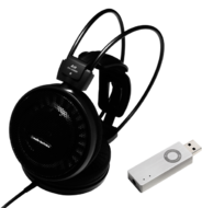 Pachete PROMO Casti si AMP Audioengine ATH-AD500X + Audioengine D3Audioengine ATH-AD500X + Audioengine D3
