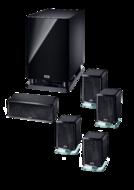 Boxe Boxe Heco Ambient 5.1 A Aluminium BlackBoxe Heco Ambient 5.1 A Aluminium Black