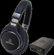 Pachete PROMO Casti si AMP Audio-Technica ATH-MSR 7 + iFi Nano iDSD BlackAudio-Technica ATH-MSR 7 + iFi Nano iDSD Black