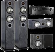 Pachete PROMO SURROUND Pachet PROMO Monitor Audio Bronze 5 pachet 5.0 + Denon AVR-X1500HPachet PROMO Monitor Audio Bronze 5 pachet 5.0 + Denon AVR-X1500H
