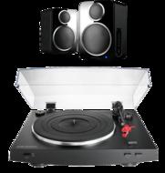 Pachete PROMO STEREO Audio-Technica AT-LP3 + Wharfedale DS-2Audio-Technica AT-LP3 + Wharfedale DS-2