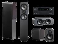 Pachete PROMO SURROUND Pachet PROMO Q Acoustics 3050 pachet 5.0 + Onkyo TX-NR686Pachet PROMO Q Acoustics 3050 pachet 5.0 + Onkyo TX-NR686