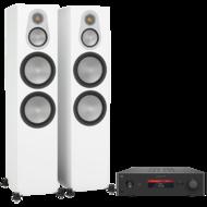 Pachete PROMO STEREO Monitor Audio Silver 500 + NAD C 388Monitor Audio Silver 500 + NAD C 388