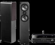 Pachete PROMO STEREO Q Acoustics 3050 + Yamaha RX-V481Q Acoustics 3050 + Yamaha RX-V481