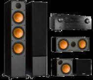Pachete PROMO SURROUND Pachet PROMO Monitor Audio Monitor 300 pachet 5.0 + Denon AVR-X2500HPachet PROMO Monitor Audio Monitor 300 pachet 5.0 + Denon AVR-X2500H
