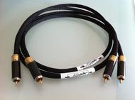 Cabluri audio Cablu A Charlin RCA Black 1000 MK ICablu A Charlin RCA Black 1000 MK I