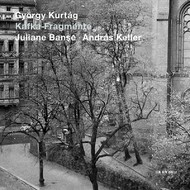 Muzica CD CD ECM Records Juliane Banse, Andras Keller - Gyorgy Kurtag: Kafka-FragmenteCD ECM Records Juliane Banse, Andras Keller - Gyorgy Kurtag: Kafka-Fragmente