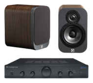Pachete PROMO STEREO Pachet PROMO Q Acoustics 3010 + Cambridge Audio Topaz AM5Pachet PROMO Q Acoustics 3010 + Cambridge Audio Topaz AM5