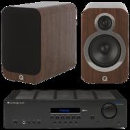 Pachete PROMO STEREO Pachet PROMO Q Acoustics 3020i + Cambridge Audio Topaz SR20Pachet PROMO Q Acoustics 3020i + Cambridge Audio Topaz SR20