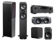 Pachete PROMO SURROUND Pachet PROMO Q Acoustics 3050 pack 5.0 + Denon AVR-X1400WPachet PROMO Q Acoustics 3050 pack 5.0 + Denon AVR-X1400W