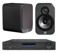 Pachete PROMO STEREO Pachet PROMO Q Acoustics 3020 + Cambridge Audio Topaz AM10Pachet PROMO Q Acoustics 3020 + Cambridge Audio Topaz AM10