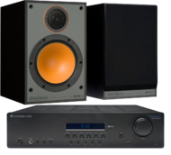 Pachete PROMO STEREO Monitor Audio Monitor 100 + Cambridge Audio Topaz SR10Monitor Audio Monitor 100 + Cambridge Audio Topaz SR10