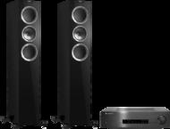 Pachete PROMO STEREO Pachet PROMO KEF R500 + Cambridge Audio CXA60Pachet PROMO KEF R500 + Cambridge Audio CXA60