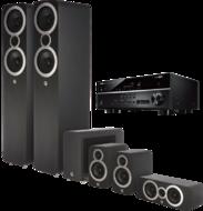 Pachete PROMO SURROUND Pachet PROMO Q Acoustics 3050i pachet 5.1 + Yamaha RX-V485Pachet PROMO Q Acoustics 3050i pachet 5.1 + Yamaha RX-V485