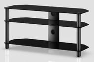Standuri TV  Comoda HiFi  NEO - 3110-B-BLK Comoda HiFi  NEO - 3110-B-BLK