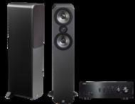 Pachete PROMO STEREO Q Acoustics 3050 + Yamaha A-S501Q Acoustics 3050 + Yamaha A-S501