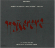 Viniluri VINIL ECM Records Arvo Part: MiserereVINIL ECM Records Arvo Part: Miserere