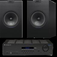 Pachete PROMO STEREO KEF Q150 + Cambridge Audio Topaz SR20KEF Q150 + Cambridge Audio Topaz SR20