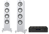 Pachete PROMO STEREO KEF Q550 + Cambridge Audio Topaz SR20KEF Q550 + Cambridge Audio Topaz SR20