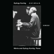 Muzica CD CD ECM Records Gyorgy Kurtag: JatekokCD ECM Records Gyorgy Kurtag: Jatekok