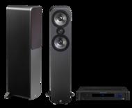 Pachete PROMO STEREO Q Acoustics 3050 + Emotiva TA-100Q Acoustics 3050 + Emotiva TA-100