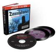 Muzica CD CD Decca Wagner: Tannhauser ( Solti - Kollo, Dernesch ) CD + BluRay AudioCD Decca Wagner: Tannhauser ( Solti - Kollo, Dernesch ) CD + BluRay Audio